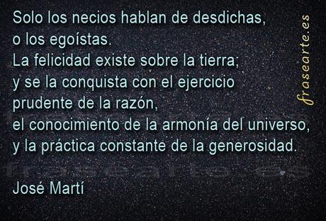 Frases para la vida, José Martí