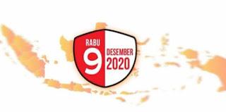 Hari pilkada serentak Rabu 9 Desember 2020, Ditetapkan Libur Nasional