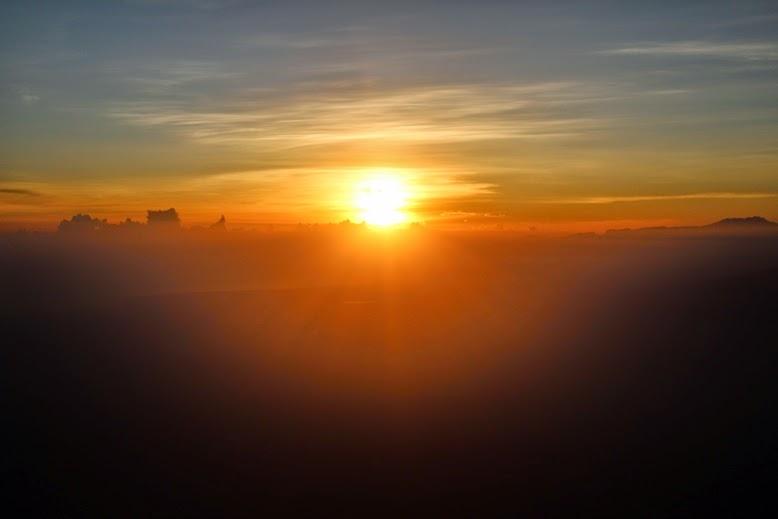 Sunrise di arjuno