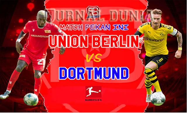 Prediksi Union Berlin Vs Borussia Dortmund, Sabtu 19 Desember 2020 Pukul 02.30 WIB @ Mola TV