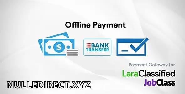 Offline Payment Gateway Plugin v2.3 Nulled