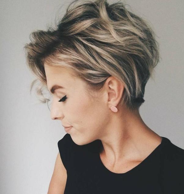 Model rambut wanita pendek Pixie Cut