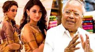 """Saree is Important, not Cinema Heroines"" | Nalli Silks Owner Kuppuswamy"