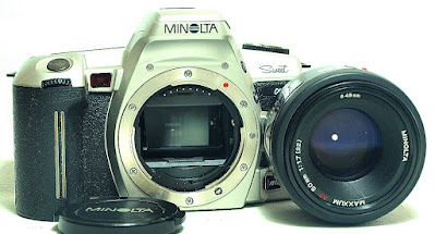 Minolta Alpha Sweet (Silver) Body #441, Maxxum AF 50mm 1:1.7 RS #362