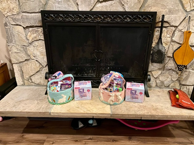 Kids Easter baskets