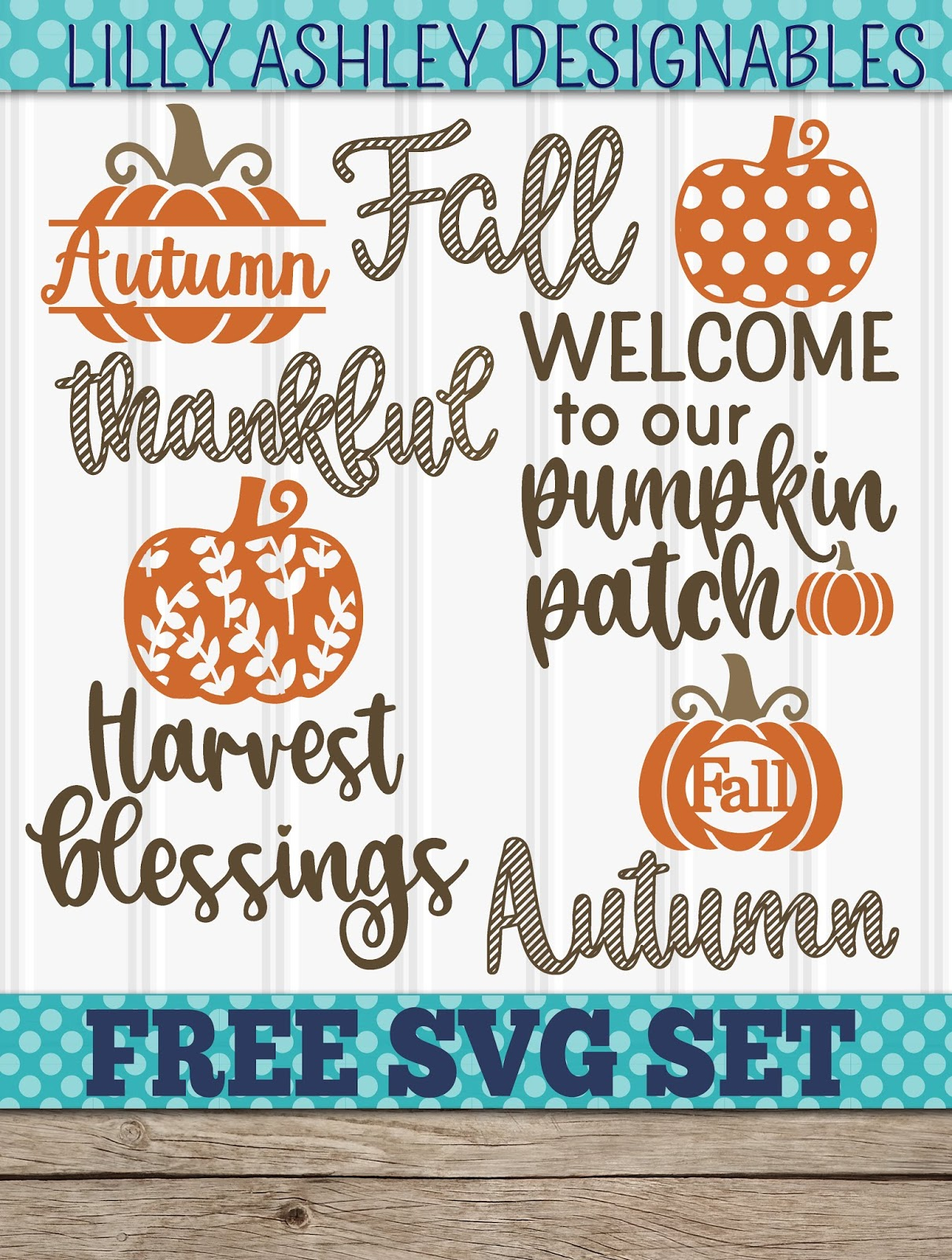 Make It Create Free Cut Files And Printables Free Autumn Svg File Set