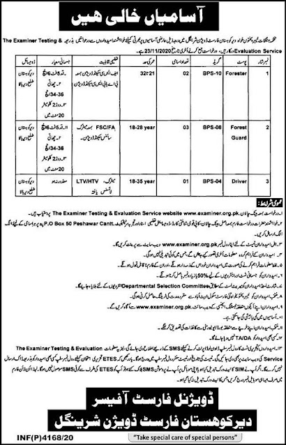 forest-department-kpk-jobs-2020-application-form