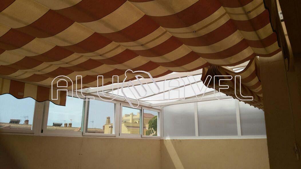 Cerramientos En Almeria 950 411 333 Alumavel Cortinas De - Cortinas-para-techo