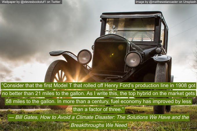 Wallpaper Wednesday: How to Avoid a Climate Disaster