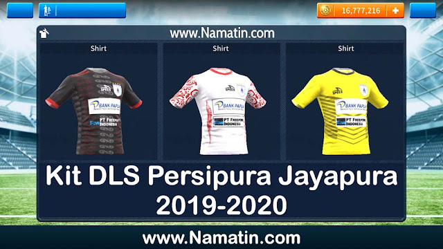 Kit DLS Persipura Jayapura