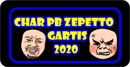 Char Pb Zepetto Gratis Terbaru 2020 Bukan Gm Bagi Bagi Char Suhu Gem