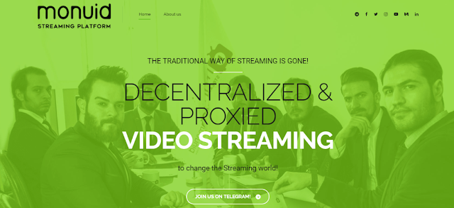 Monvid ICO - The New Decentralized Video Streaming Platform