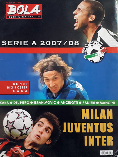 MAJALAH BOLA SERI LIGA ITALIA: SERIE A 2007/08 MILAN JUVENTUS INTER