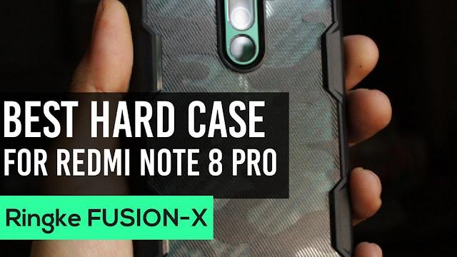 Ringke Fusion X Hard Case for Xiaomi Redmi Note 8 Pro