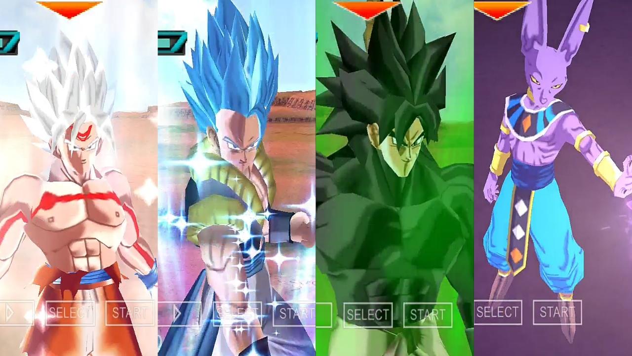 PSP Dragon Ball Xenoverse 2 Mod