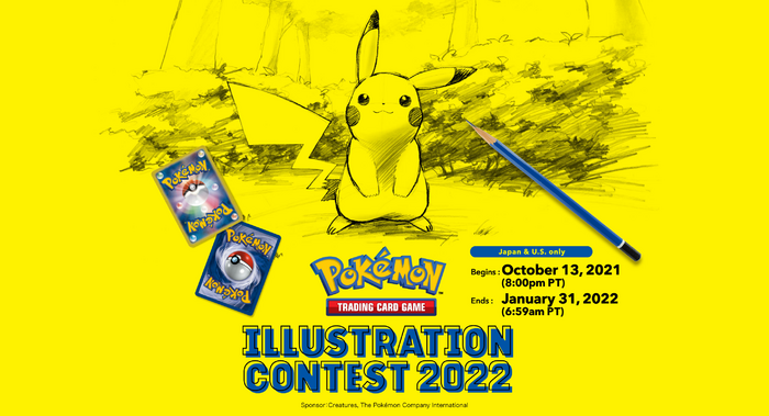 Pokémon Trading Card Game - Illustration Contest 2022