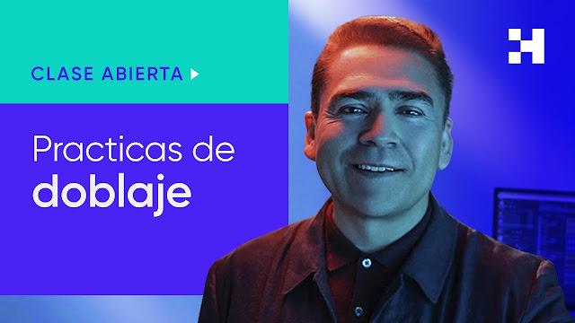 Doblaje y actuación de voz con Mario Arvizu