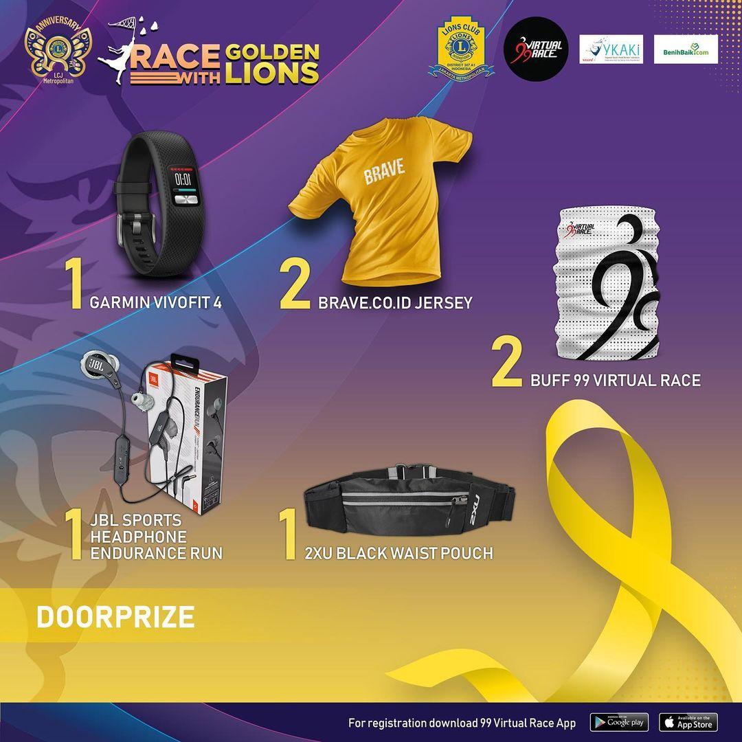 Doorprize 🎁 Race with Golden Lions • 2021