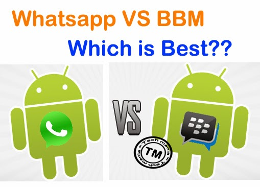 Whatsapp Vs BBB Review. Which is Best ??