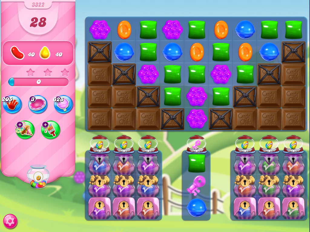 Candy Crush Saga level 3332