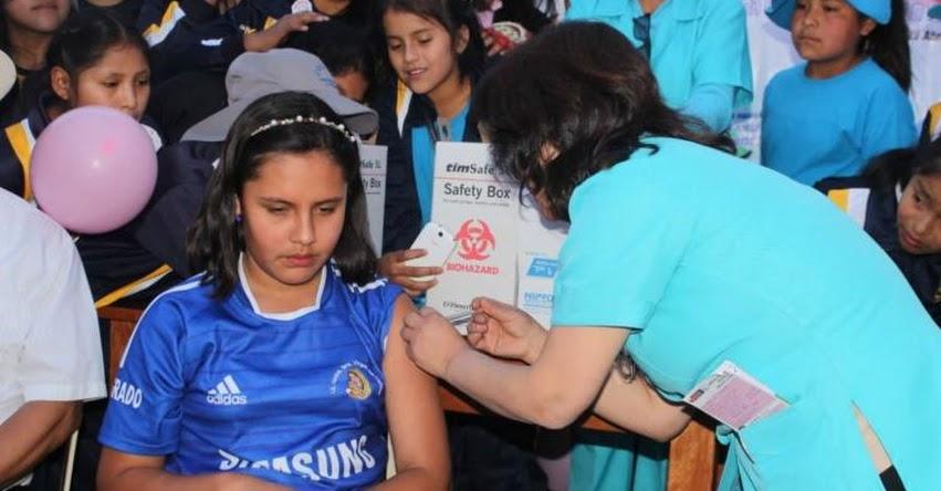 DIRESA Cusco realiza Campaña de Vacunación contra la Parotiditis (paperas) en colegios públicos y privados