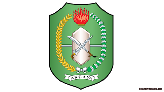 lambang logo provinsi kalimantan barat png transparan - kanalmu