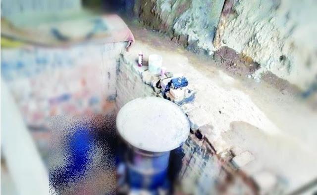 Colado, cemento, construcción