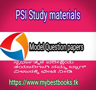 PSI Model Question paper-1