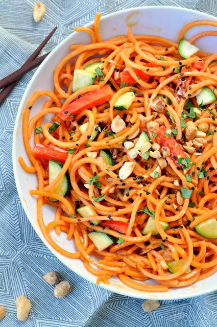 thai veggie noodles ten minute recipe