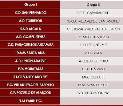 Tercera División Madrid