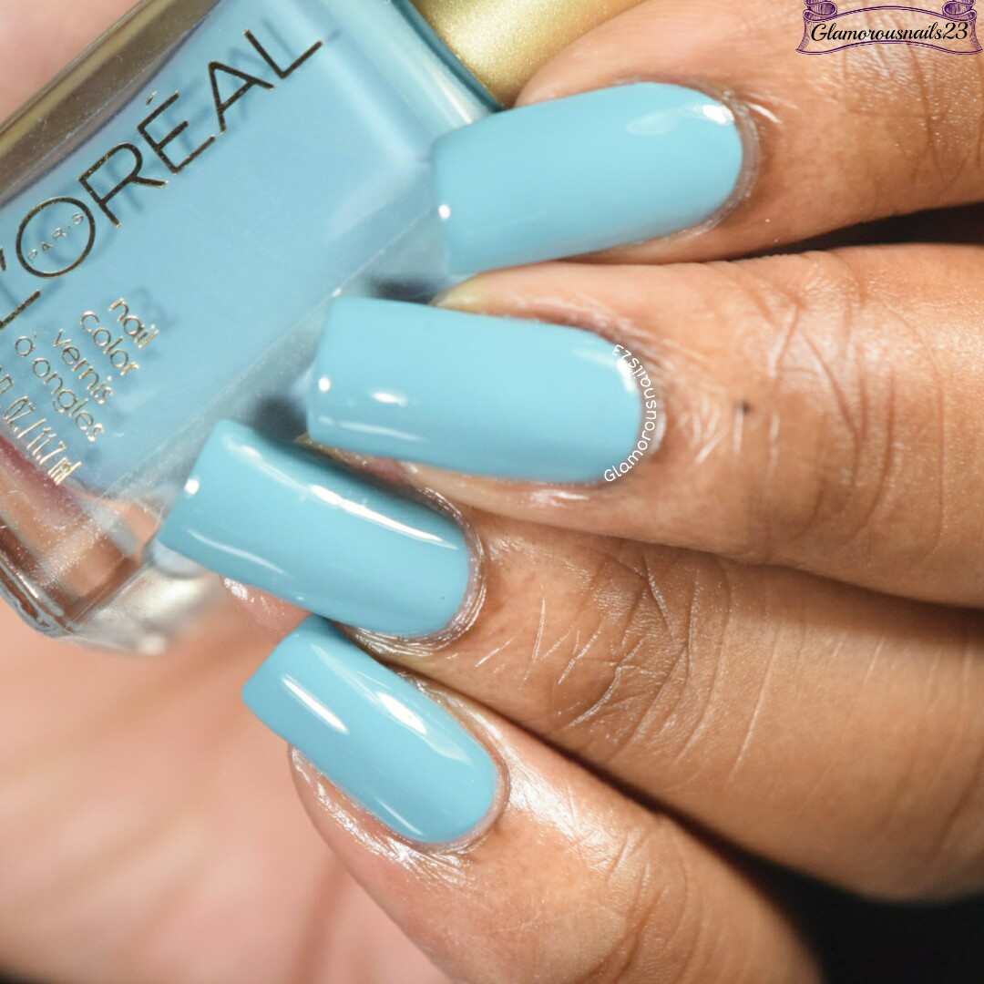 L\'Oreal Now You Sea Me Swatches & Review - Glamorousnails23