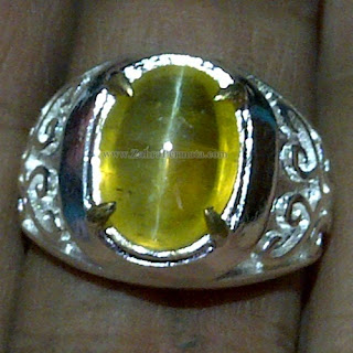 Cincin Batu Opal Cat Eye - ZP 1042