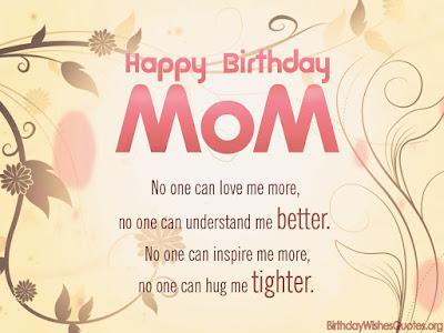 Beautiful Happy Birthday Mom Wishes