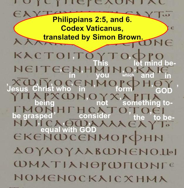 Philippians 2:6.
