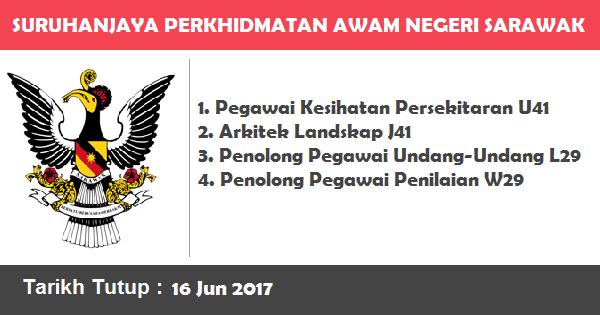 Jawatan Kosong di Suruhanjaya Perkhidmatan Awam Negeri Sarawak (SPANS)