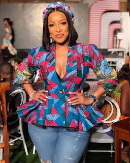 Miss Maliaka 2019 Joselyn Dumas African Print Blazer - Ginna Online