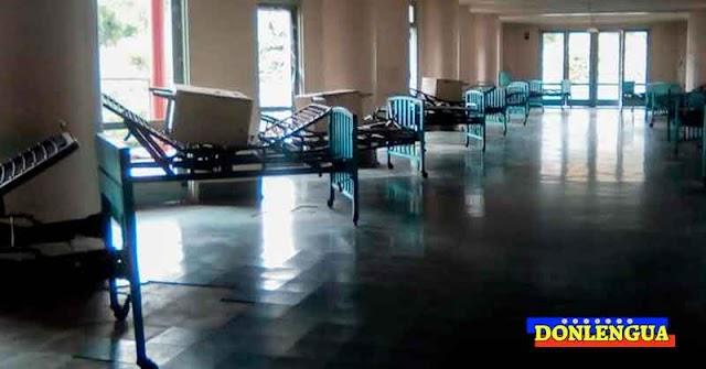 Hospital  Universitario se quedó sin sección para pacientes del Virus Chino