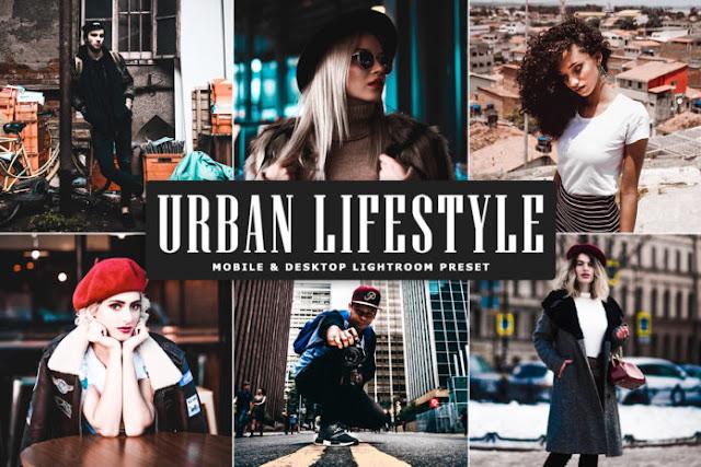 Free Download Urban Lifestyle Mobile & Desktop Lightroom Preset