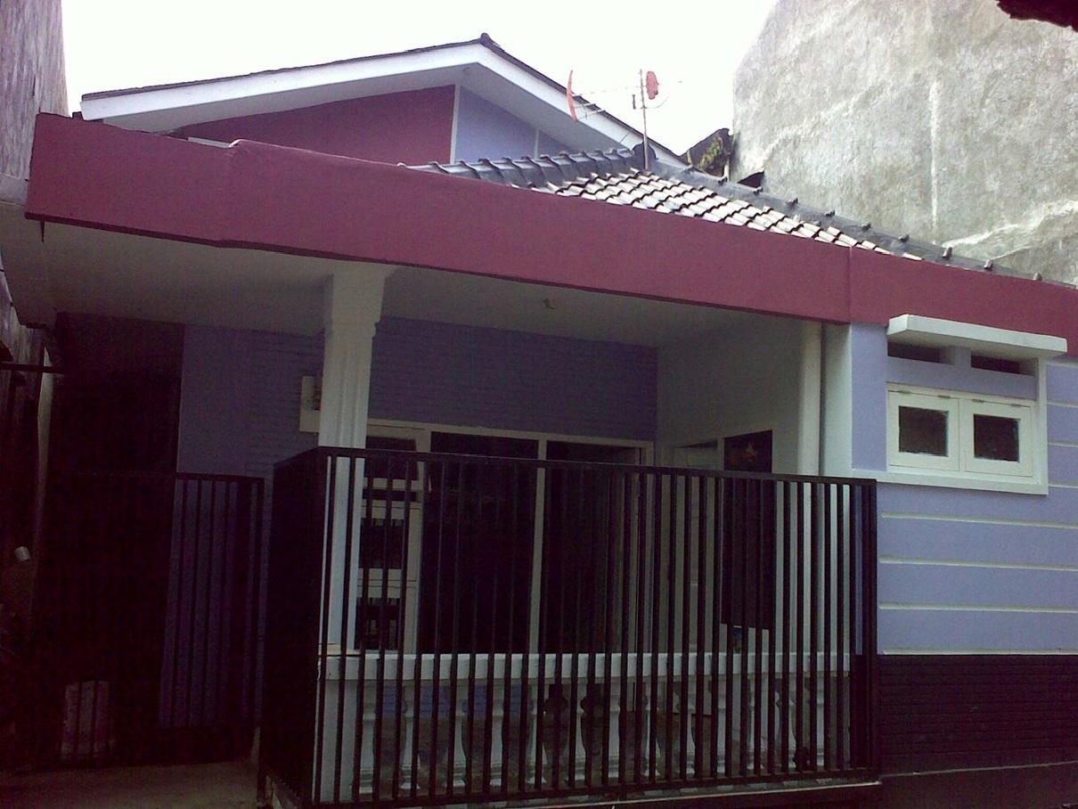 Hasil proyek Renovasi rumah Kost 1 1/2 lantai  milik Bpk Arief di Jl. Ciwaluya,Baranangsiang, Bogor tahun 2010