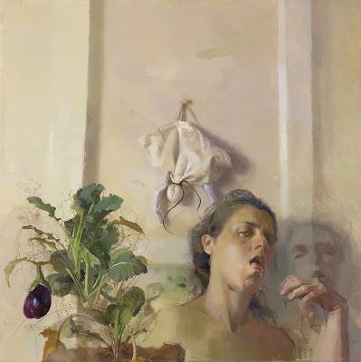 Three in Two Directions - Self Portrait (2012), Sigal Tsamari