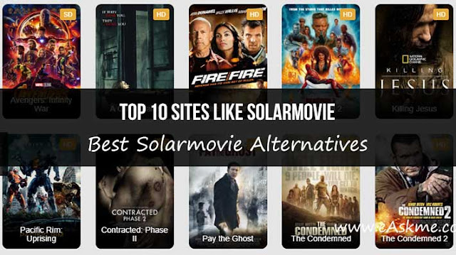 Top 10 Sites like Solarmovie: Best Solarmovie Alternatives: eAskme