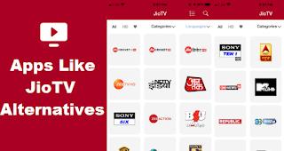 Apps Like JioTV