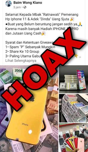 Hoax Give Away Baim Wong Dan Rans Masboyke