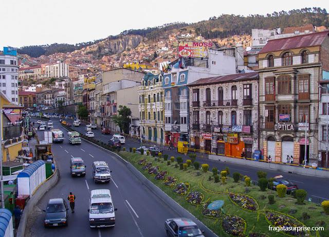 Avenida 16 de Julio, La Paz, Bolívia