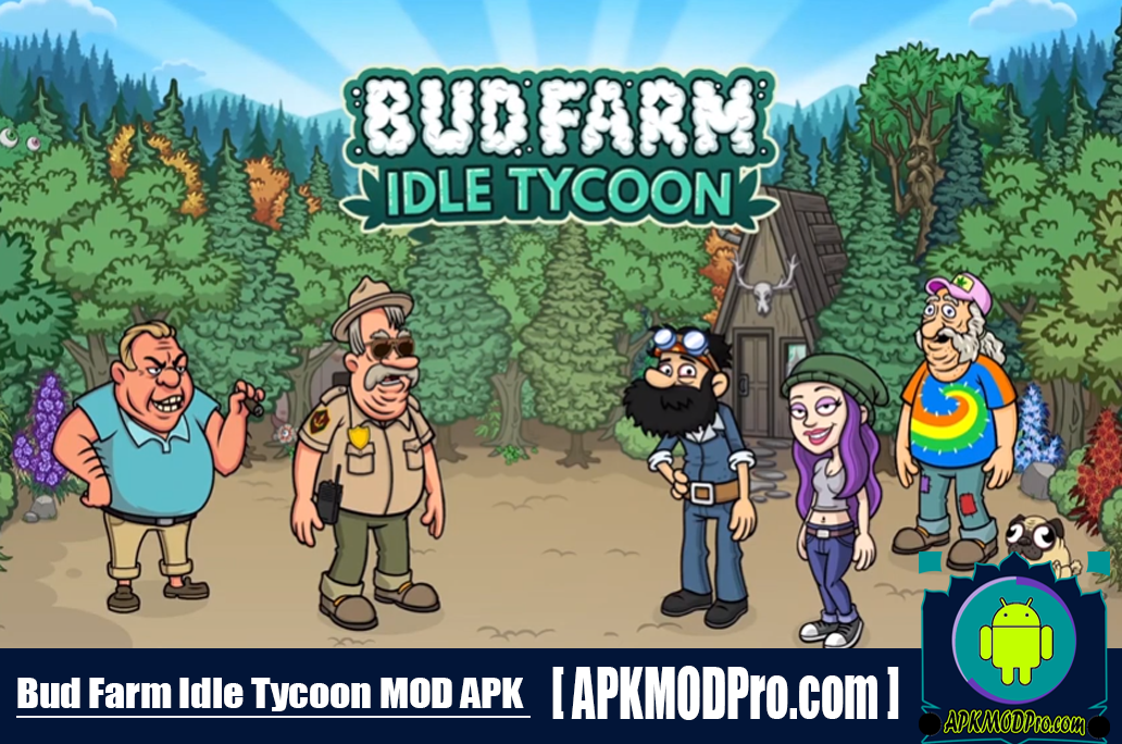 Download Bud Farm: Idle Tycoon MOD APK 1.4.0 (Unlimited Money) For Android