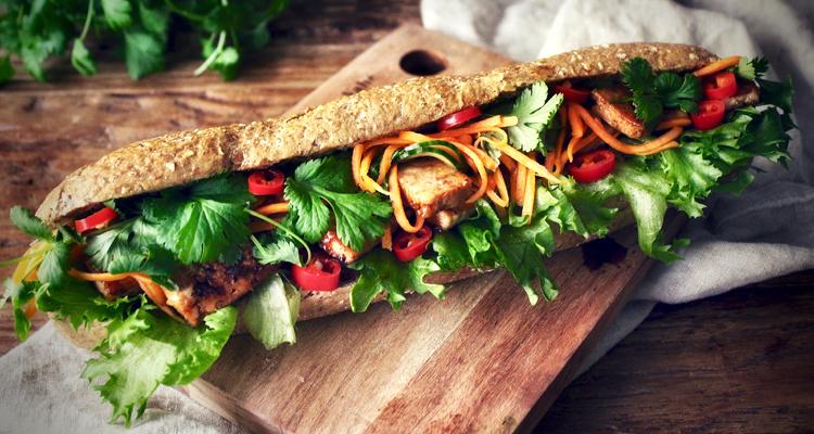 vegaaninen banh mi patonki