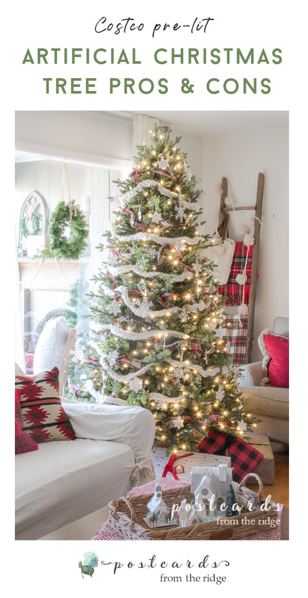 artificial Christmas tree review