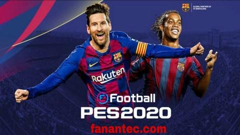 تحميل لعبة كرة القدم بيس 2020 eFootball PES إنتاج كونامي الجديد للاندرويد والايفون