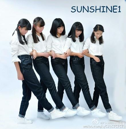 女版TFBOYS!?中國推出5人女子團體「Sunshine組合」團員