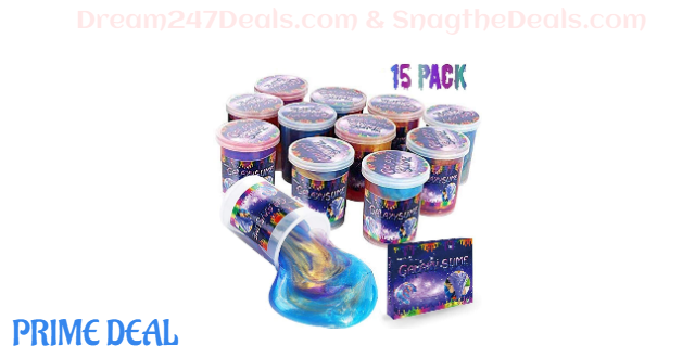 40% OFF Marbled Unicorn Color Slime - 15 Pack